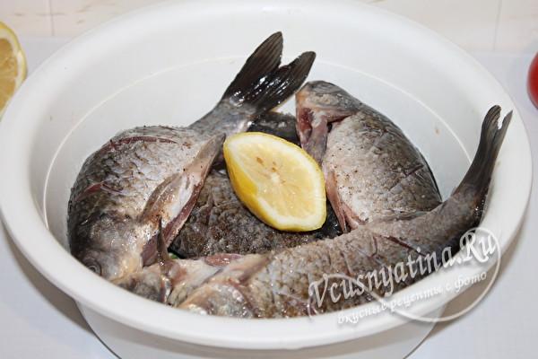 маринуем рыбу в лимоне