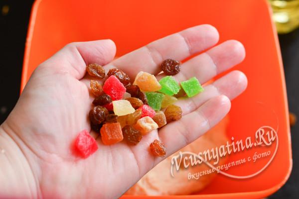 цукаты и изюм