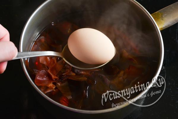 кладем яйца