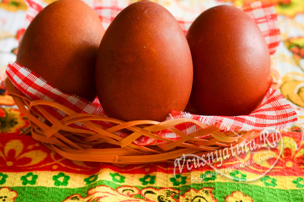 украшеные яйца