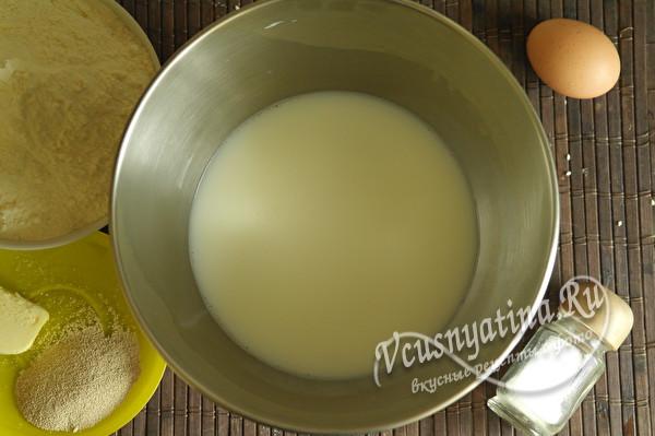 вода с молоком