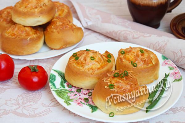 мягкие сырные булочки