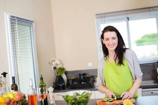 приготовление еды дома