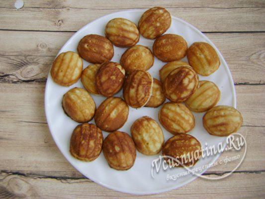 половинки печенья