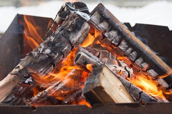 розжиг дровами