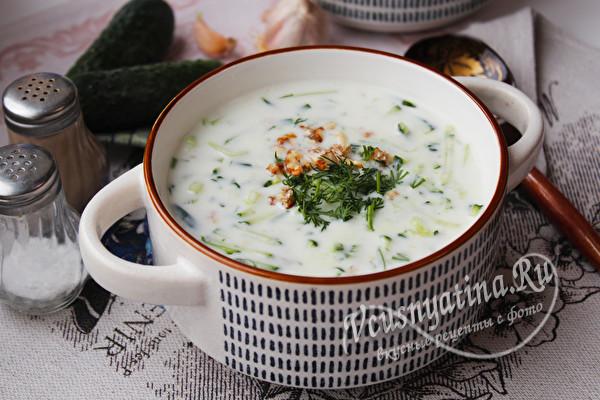 летний суп по-болгарски