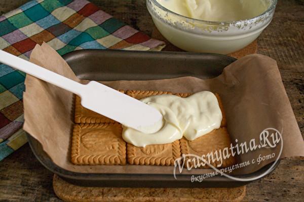 слой крема