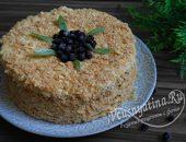 рубленный торт с вареньем