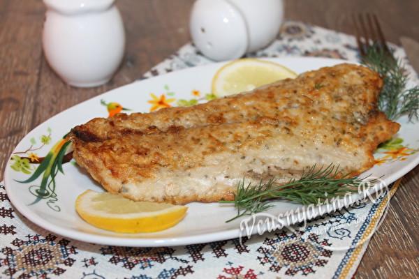 Жаренный тунец с лимоном