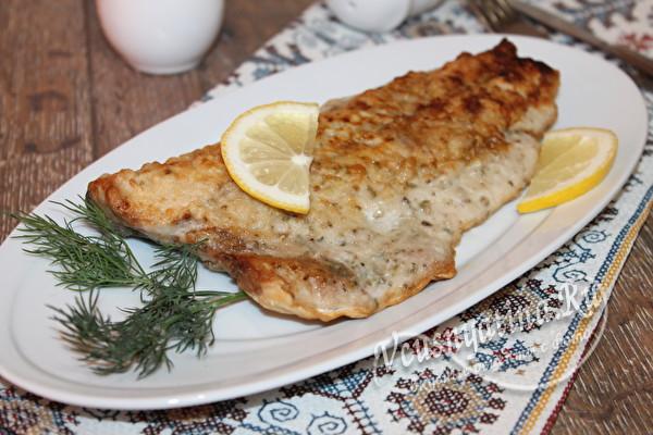 тунец жареный на сковороде