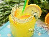 Домашний лимонад с мятой и тархуном