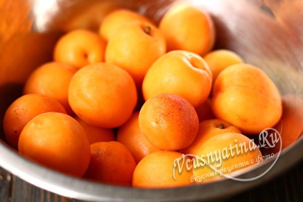подготовленные абрикосы