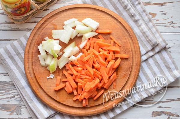 овощи на зажарку