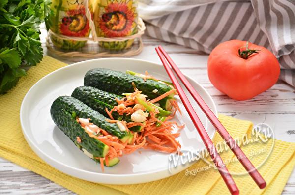 огуречно-морковная закуска