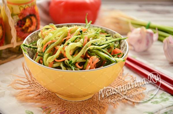 закуска из овощей по-корейски