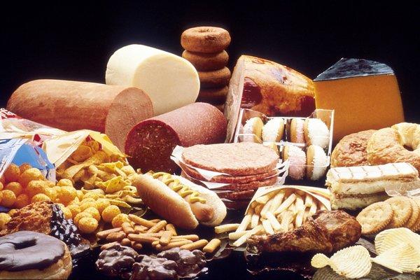 продукты питания не желательные в употреблении