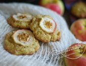 Овсяное печенье с яблоками