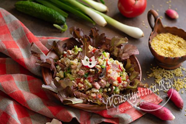 салат без майонеза