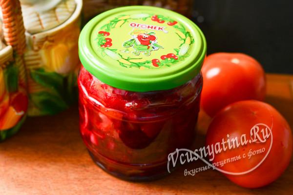 Салат с болгарским перцем и свеклой — pic 9