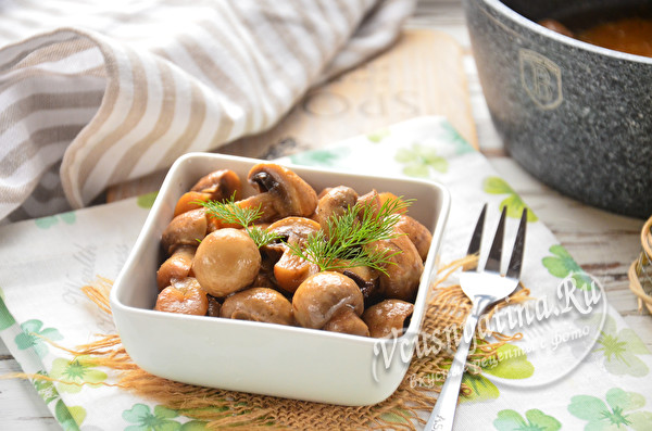 маринованные быстро грибы