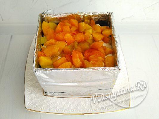 слой абрикосов