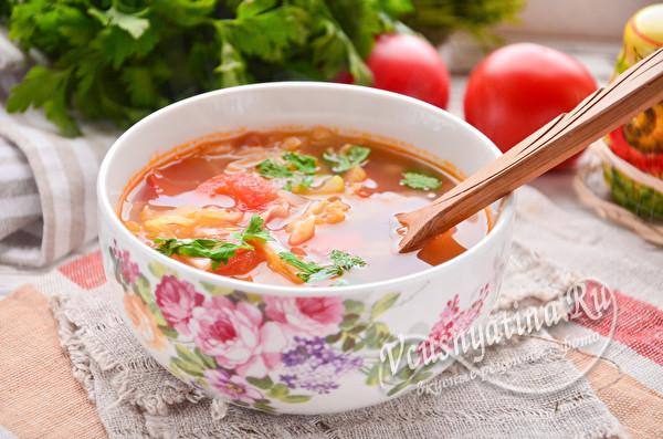 овощной суп готов