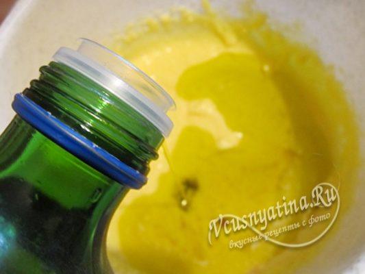 добавляем масло оливковое