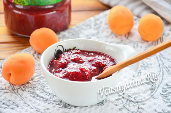 клубнично-абрикосовое варенье