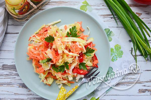 витамино-овощной салат