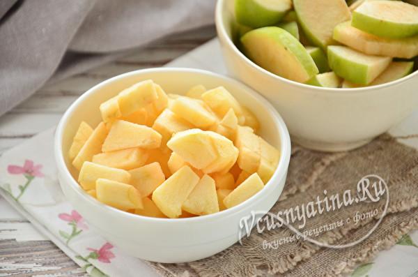 яблоки без кожуры