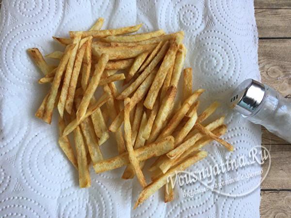 солим картошку