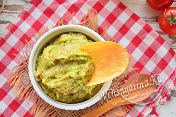 гуакамоле из авокада