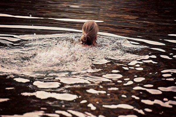 купание на Ильин день