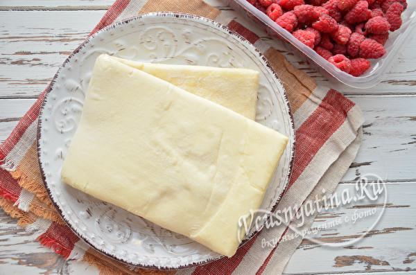 тесто на слойки