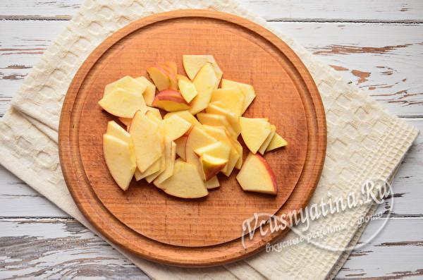 Простые слойки с яблоками из готового теста – быстро, вкусно и удобно