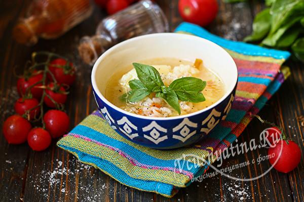 суп из хвоста и головы семги