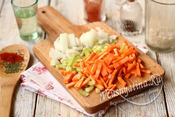 овощи для пережарки