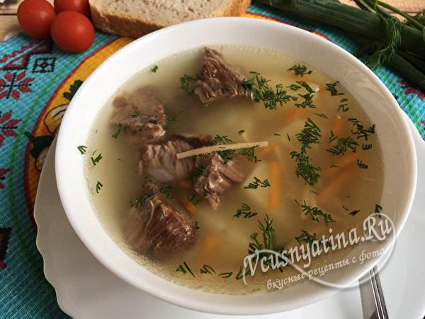овощной суп с тушенкой