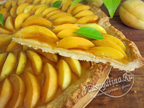 абрикосовый тарт