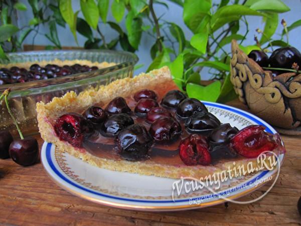 ягодный торт без выпечки