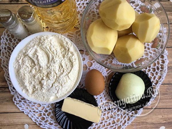 продукты для вареников