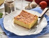 Кабачковый пирог в духовке