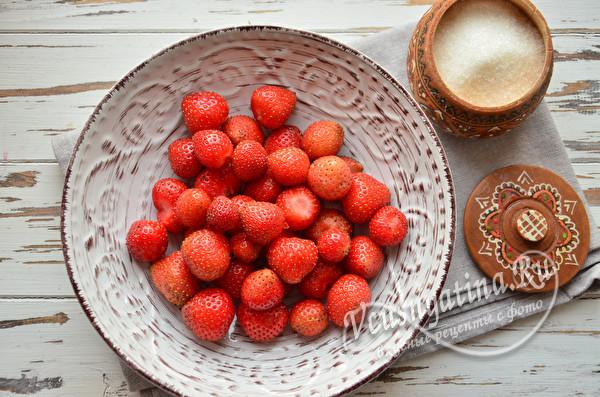 промытая ягода