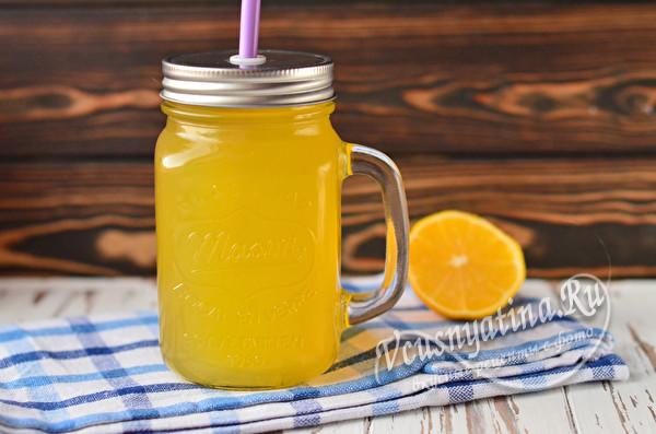 негазированый лимонад с тархуном