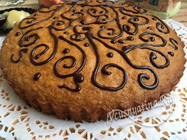 медовый пирог готов