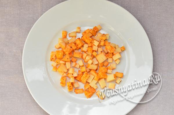 нарезанный сыр