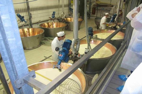 процесс приготовления сливочного масла