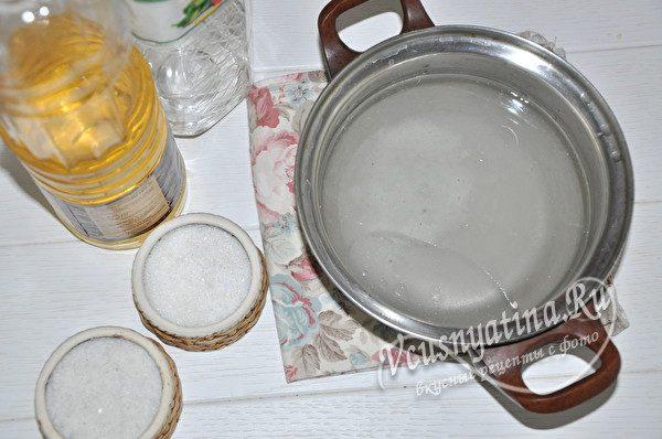 приготовить маринад