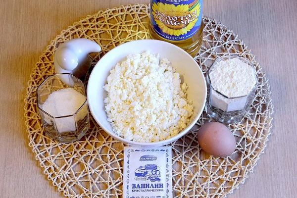 продукты для сырников