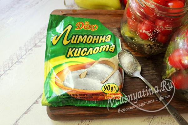 берем лимонную кислоту